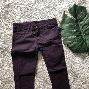 Denim & Supply •Eggplant Skinny Jeans